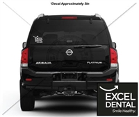EXCEL DENTAL CAR DECAL