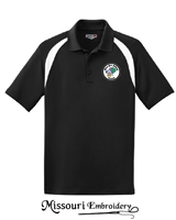 ABOU BEN ADHEM CLOWN DRY ZONE COLOR BLOCK POLO