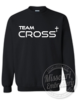 TEAM CROSS HEAVYWEIGHT Gildan CREWNECK-UNISEX CUT