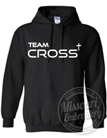 TEAM CROSS Gildan HEAVYWEIGHT HOODIE