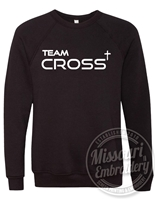 TEAM CROSS BELLA SUPER SOFT CREWNECK- UNISEX CUT