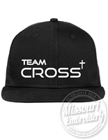 TEAM CROSS FLAT BILL HAT