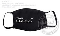 TEAM CROSS JUNIOR FACE MASK