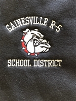 Gainesville Bulldogs 1/4 zip jacket