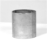 Slip Coupling, Commercial Thin Wall Steel, 2-inch OD