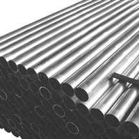 Commercial Thin Wall Steel Vacuum Tubing 2-in OD x 8-ft long