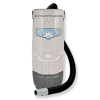 Backpack Vacuum System - The Whisper Raven 10 Qt. by Sandia - Professional Cleaning Service Vacuum