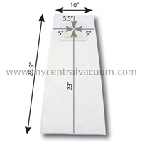 Bags for Vacumaid-Astrovac Central Vacuums. Paper. 3-Pack.