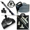 Our EuroPak - An Electric Power Brush/Nozzle with Hose and Cleaning Tools Bundle for Central Vacuum Systems