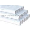 2-inch Outside Diameter Thin Wall PVC Central Vacuum Tubing in 4-ft Lengths