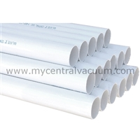PVC Central Vacuum Tubing 2-in x 4-ft
