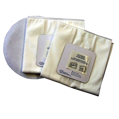 Disposable Bags for GA-40 Unit - 3 Pack Plus Disc Filter