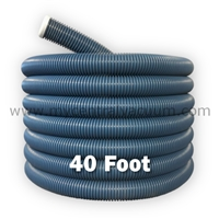40-Foot Central Vacuum Retractable Hose for Older Hide-a-Hose Systems