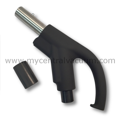 Hide-a-Hose Ready Grip Handle Button Lock No Switch HS302180C - Retractable Hose System for Central Vacuums