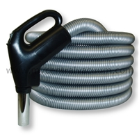 Gas Pump Type Handle Central Vacuum System Hose with System On/Off Switch