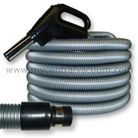 Gas Pump Type Handle Central Vacuum Hoses with Two-Way Switching for System On/Off and Electric Power Brush On/Off
