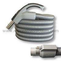 Elite Series Comfort Grip Type Handle Central Vacuum System Hose with System On/Off and Power Brush On/Off Switching