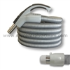 Elite Series Comfort Grip Handle Central Vacuum System Hose with System On-Off Switch