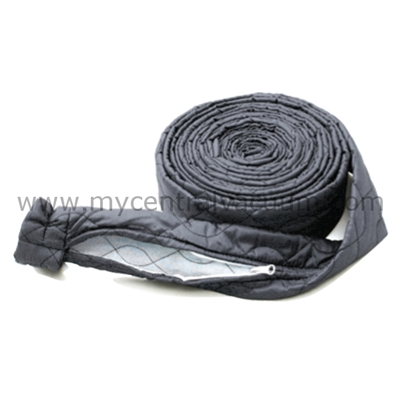 Central Vacuum Hose Sock - Zippered - Available in 30 and 35 Foot Sizes