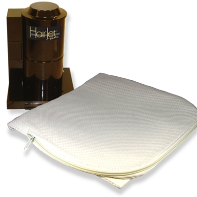 Reusable Zippered Capture Bag for HairJet Salon Vacuum System by Galaxie Central Vacuum