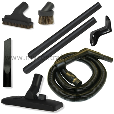 RV and Camper Cleaning Tool Package with Stretch Hose and Combination Rug and Floor Tool