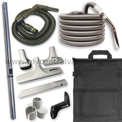 Extra Value Cleaning Accessory Package for Sweep-Away Cabinet Vacuum and Other Compatible Central Vacuum Systems