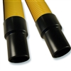 "25-foot Commercial Yellow Crushproof Hose with Commercial 1-1/2"" Cuffs"