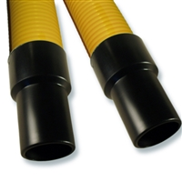 50-foot Commercial Yellow Crushproof Hose with Commercial Cuffs