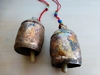 "Rhythm of the Earth Copper Bell, 6"" - India"