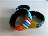 Beaded Zulu Bangle Bracelet - Large