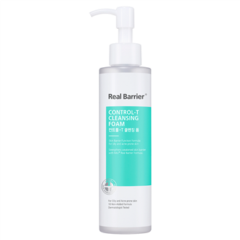 Real Barrier Control-T Cleansing Foam