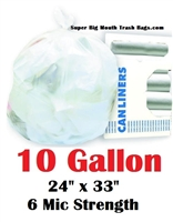 10 Gallon Trash Bags