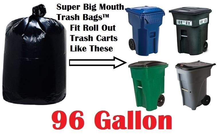 96 Gal Garbage Bags Larger Photo