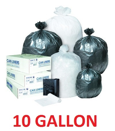 Trash Bags 10 Gallon