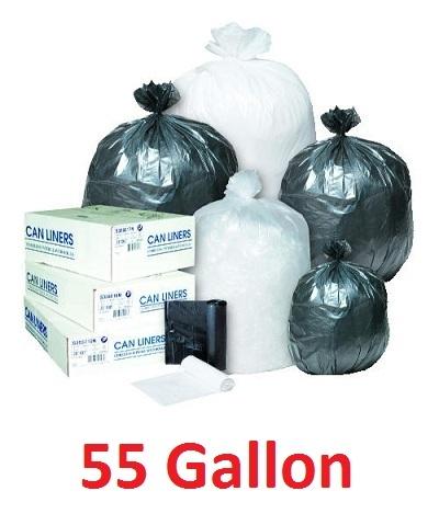 Trash Bags 55 Gallon