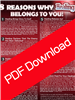 8 Reasons Why Healing Belongs To You - Joshua Mills (Digital PDF Download)