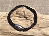 Coastline Black Nautical Bracelet