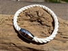 Coastline White Nautical Bracelet