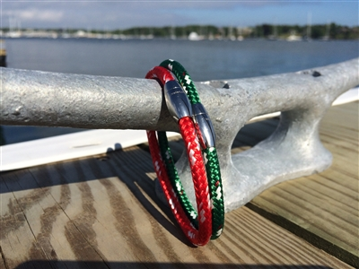 Port and Starboard Nautical Bracelets