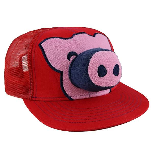 Calhoun s Pig Cap - Red bee09c3c916a