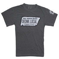 SMB Drink Local Tee - Grey