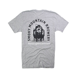SMB Brewing Tee - Heather Grey