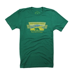 SMB Mountain Vista Tee - Evergreen