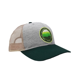 SMB Vista Cap - Grey / Tan / Green