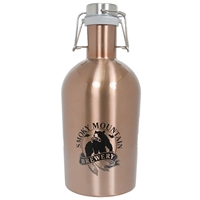 SMB 64 oz Stainless Steel Growler - Copper
