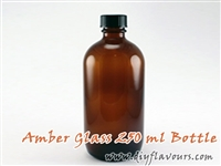 250 ml amber glass bottle