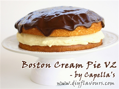 Boston Cream Pie V2 by Capella's