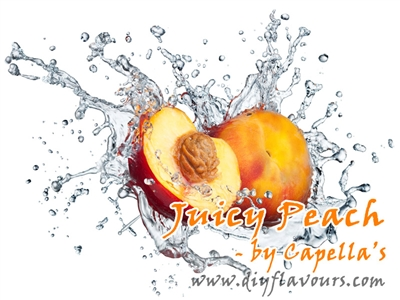 Juicy Peach Flavor Concentrate by Capella's