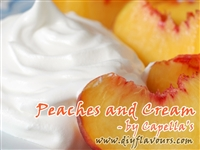 Peaches and Cream Flavor Concentrate by Capella's