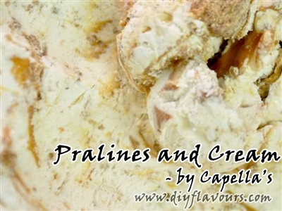 Pralines and Cream Flavor Concentrate by Capella's
